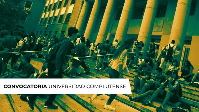 Convocatoria Universidad Complutense